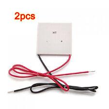 2x 100W TEC Thermoelectric Cooler Peltier Thermoelektrische Kuehler Peltier T2J3