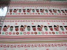 3 Yards Quilt Cotton Fabric- Benartex Cherry Blossom Festival Japanese Doll Pink