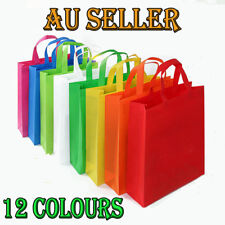 Bulk 1-100pcs ECO Bag Non Paper Carry Shopping Bags Tote Wedding Party Gift Bags