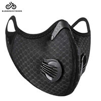 Cycling Protective Mouth-muffle Face Cover Haze Fog Mouth Cover With Filter