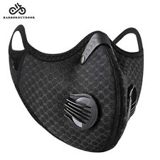 Cycling Protective Mouth-muffle Face Shield Haze Fog Mouth Cover With Filter