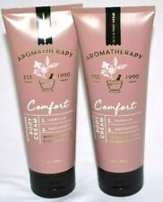 2 Bath & Body Works Aromatherapy Comfort Moisture Body Cream Vanilla Patchouli