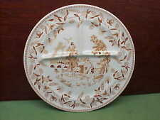 Wallace China Desert Ware Ye Olde Mill Grill Plate Dinner Plates Platters Chops