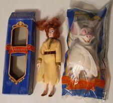 Anastasia Burger King Figure Lot Of 2 Anastasia and Bartok