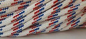 "7/16"" x 100 ft Pre-Cut Double Braid-Yacht Braid polyester rope hank."