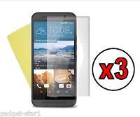 3x HQ MATTE ANTI GLARE SCREEN PROTECTOR COVER LCD GUARD FILM FOR NEW HTC ONE M9