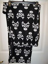 Croft & Barrow Skull Crossbone Fleece Sleep Lounge Pajama PJ Pants Mens XL NWT