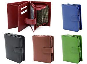 StarHide Ladies Womens Designer RFID SAFE Leather Zipped Wallet Purse Gift 5525