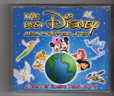 (IQ253) The Best Disney Album In The World Ever - 2006 CD set