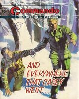 Commando For Action & Adventure Comic Book Magazine #1311 AND EVERYWHERE THAT CA