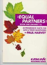 Equal Partners Book 1 Paul Harvey Alto & Tenorsaxophone MUSIC BOOK Only
