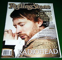 Secret Radiohead, Fake FBI Domestic Terror Threats, 2008 Rolling Stone Magazine