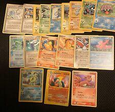 18 French Pokemon Cards! Base Set Leviator Typhlosion Reverse Holo Expedition