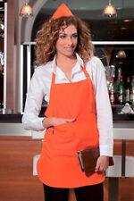 Grembiule Cucina Donna Uomo Bar Lavoro Cuoco Chef Alimentare Abbigliamento Abiti