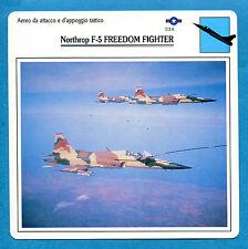 SCHEDA TECNICA AEREI - NORTHROP F-5 FREEDOM FIGHTER - (USA)