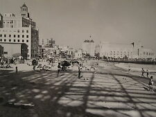 ANTIQUE 1936 SOUTHERN CA BOARDWALK SKOOTER SIGN SUN SAND ARTISTIC SWIMSUIT PHOTO