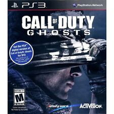 Call of Duty: Ghosts  (Sony Playstation 3, 2013) New & Factory Sealed