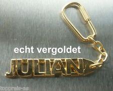 Schlüsselanhänger Edler SchlÜsselanhÄnger Dennise Vergoldet Gold Name Keychain Weihnachtsgeschenk