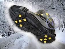 Anti Slip Shoe Grips, Ice Cleats, Spikes & Snow Gripper (Medium Size)