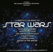A Tribute To The Music Of STAR WARS (CD Ft. The London Symphony Orchestra)