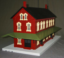 MTH PASSENGER STATION WITH 2 PLATFORMS train building scenery depot 30-90094 NEW