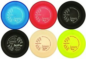 "US Made 7"" Pup Size Puppy Disc Hyperflite JawZ Puncture Resistant Dog Disc"