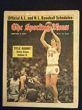 February 8 1975 Sporting News Magazine  Steve Green  Indiana Hoosiers  NCAA