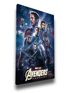 Avengers Endgame  Framed Canvas Print