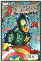 Avengers #32 VF/NM Marvel Comics 2012 Captain America Cover  End Times