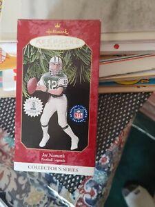 Hallmark Ornament Joe Namath New York Jets NFL Football Legends