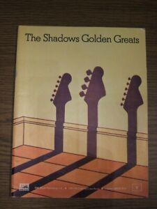 The Shadows Golden Grats - Songbook / Notenheft (EMI Music LTD)