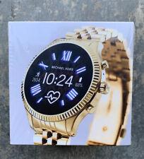Michael Kors Access Lexington 2 Smart Watch 44mm  MKT5078 Gold
