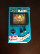 Nintendo Gameboy Bath Bubbles Vintage Mario Bros Bath Game