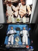 Star Wars Collectors Series Han Solo & Luke Skywalker Stormtrooper Gear NIB