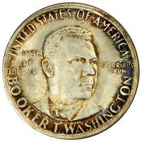 1946-S BOOKER T. WASHINGTON HALF DOLLAR - NICE GOLDEN TONE UNCIRCULATED!
