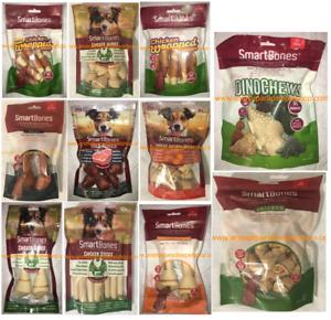SmartBones Dog Chews Bones 100% Beef/Chicken/Sweet Potato/Vegetables NO RAWHIDE