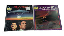 Star Trek Movies Lot Of 2 New 24 Page Read Along Book And Record NEW Sealed 33