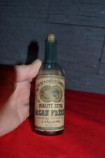 Belle petite bouteille ancienne Eau de Fleurs d'orangers GAZAN Frères Vallauris