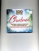 100 HITS CHRISTMAS - BING CROSBY NAT KING COLE PAT BOONE - 4 CDS & 1 DVD - NEW!!