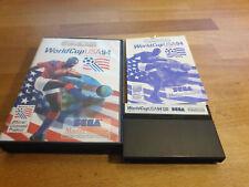 World Cup USA 94 Sega Master System OVP CIB komplett
