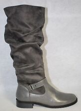 A2 by Aerosoles Ride With Me Gray Womens Slouch Tall Boot US Shoe Size 9.5 M