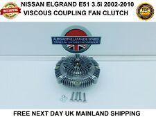 FITS NISSAN ELGRAND E51 3.5i V6 2002-2010 VISCOUS RADIATOR FAN CLUTCH NEXT DAY
