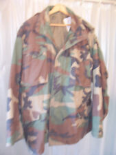 Army USMC Marine Corp Air Force M65 BDU Camo Field Hunting Jacket Coat Med Reg A