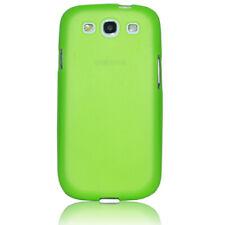 Samsung Galaxy S3 Hülle Tasche Back Case Schutz Hülle Etui Cover grün Glow
