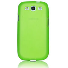 Samsung Galaxy S3 Hülle Back Case Schutz Hülle Etui Cover Grün / Glow