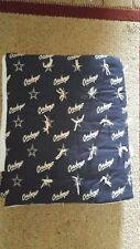 "Dallas Cowboys Xl Hand Made Blanket 55"" X 81"""
