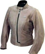 Blousons en cuir de vache coude pour motocyclette Femme
