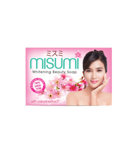 Misumi Whitening Beauty Soap Japanese Sakura and Six Other Pure,Natural Extracts