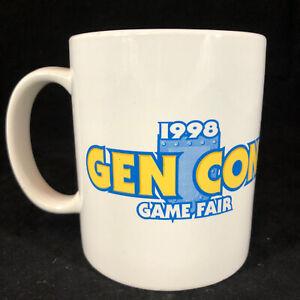 Vintage 1998 Gen Con GenCon Dungeons & Dragons Souvenir 8 Oz.  Mug