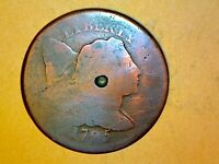 1795 Large Cent  Very Nice Coin 826